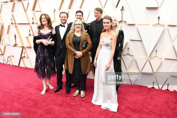 Tony Hawk and Nominee Best Documentary Short Subject Learning to Skateboard in a Warzone cast and crew attend the 92nd Annual Academy Awards at...