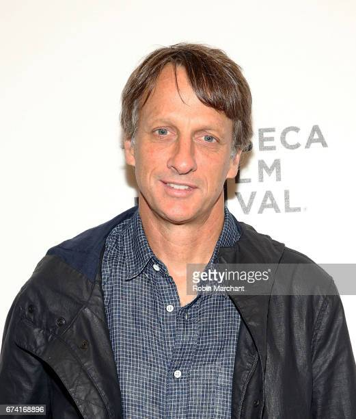 Tony Hawk attends 'Dumb The Story of Big Brother Magazine' Premiere during 2017 Tribeca Film Festival on April 27 2017 in New York City
