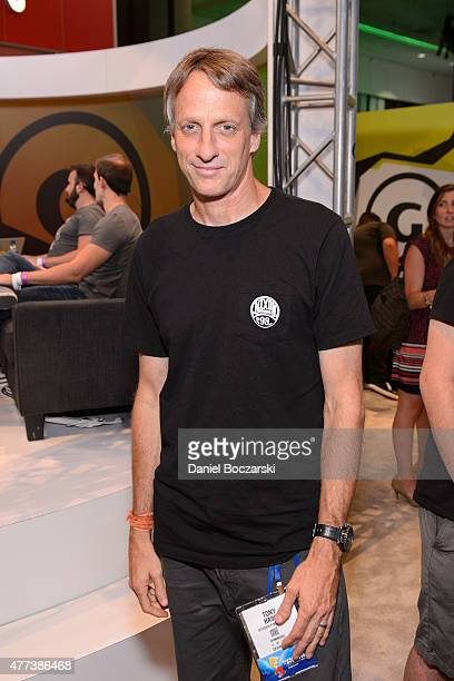 Tony Hawk attends E3 Expo at Los Angeles Convention Center on June 16 2015 in Los Angeles California