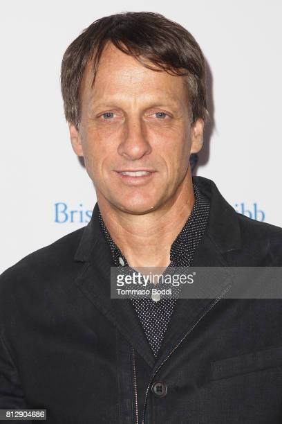 Tony Hawk attends the 3rd Annual Sports Humanitarian Of The Year Awards at The Novo by Microsoft on July 11 2017 in Los Angeles California