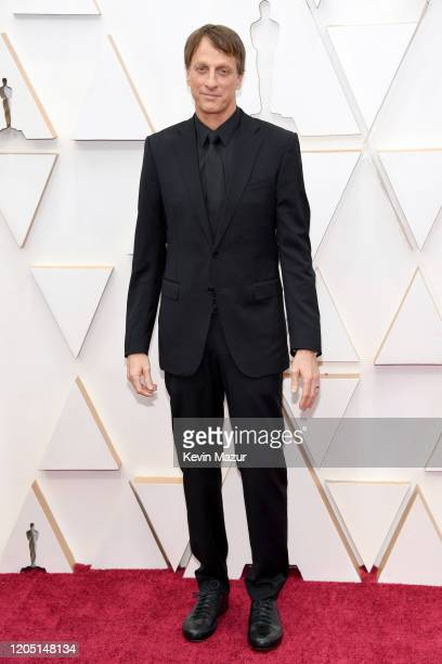 Tony Hawk attends the 92nd Annual Academy Awards at Hollywood and Highland on February 09 2020 in Hollywood California