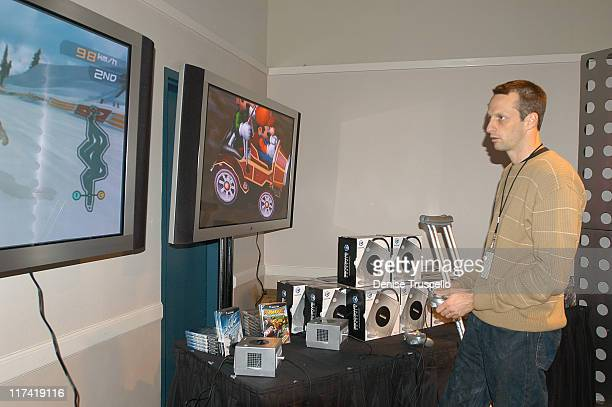 Tony Hawk during 2003 Spike TV Video Game Awards Backstage Creations Gift Bags Presentation at The MGM Grand Hotel And Casino Resort in Las Vegas...
