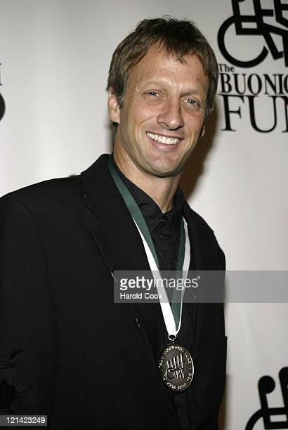 Tony Hawk during 21st Annual Great Sports Legends Dinner at The Waldorf Astoria in New York City, New York, United States.