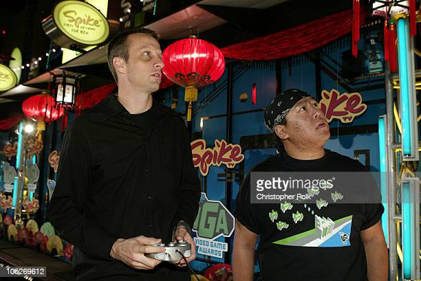 Tony Hawk during First Annual Spike TV Video Game Awards Arrivals at MGM Grand Casino in Las Vegas Nevada United States