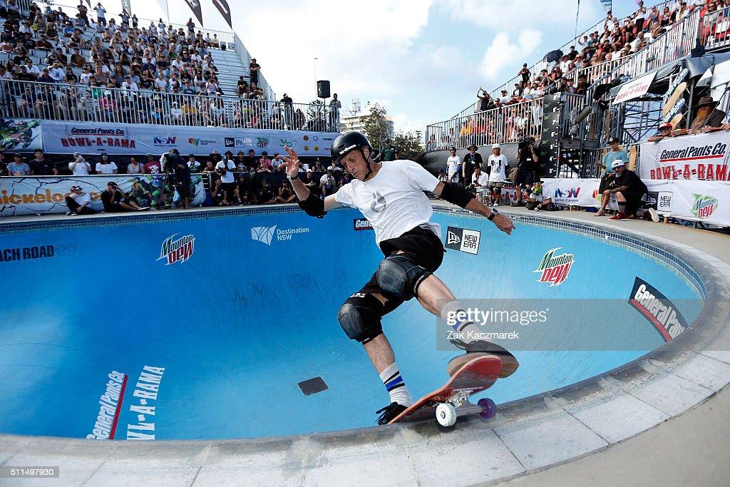 Australian Skateboarders Compete At Bowl-A-Rama : News Photo