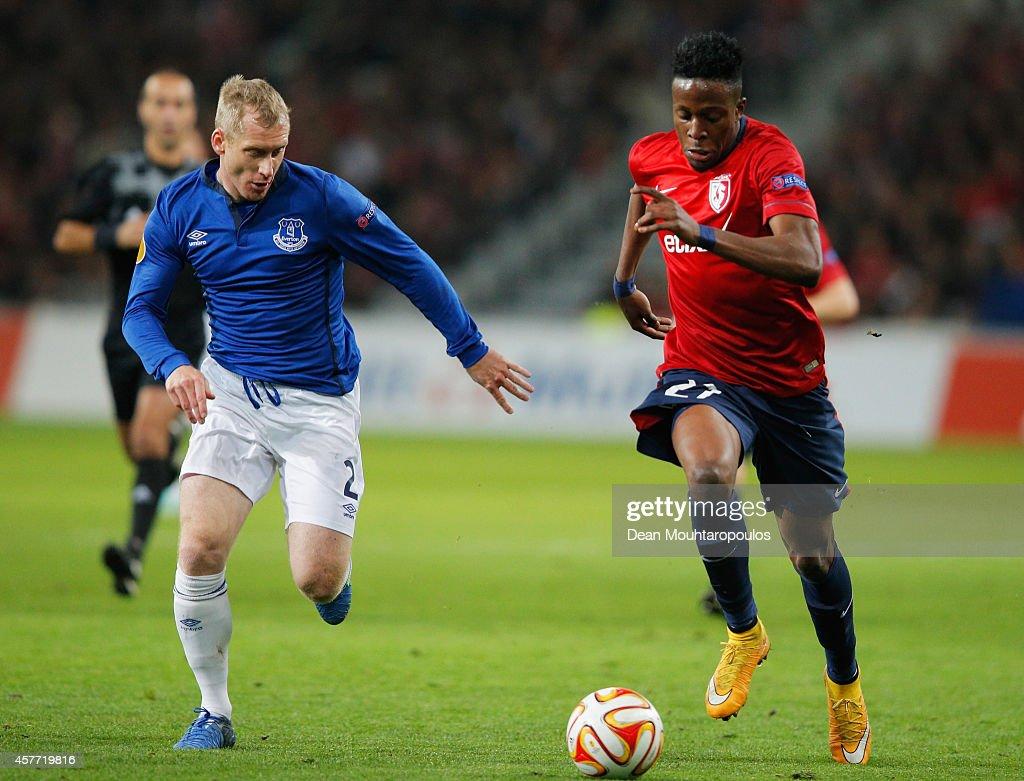 LOSC Lille v Everton FC - UEFA Europa League : News Photo