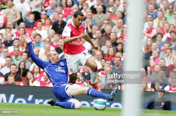Tony HIBBERT / Theo WALCOTT - - Arsenal / Everton - 37e journee Premier league, Photo : Dave Winter / Icon Sport,