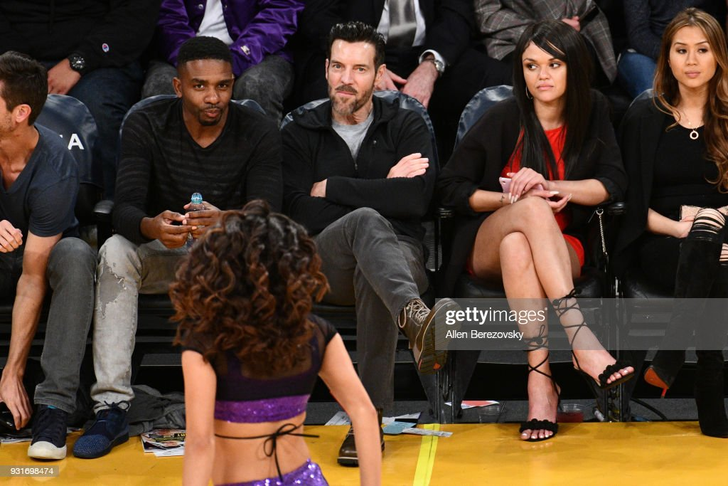 Tony Horton attends a basketball game between the Los Angeles Lakers and the Denver Nuggets at Staples Center on March 13, 2018 in Los Angeles, California.