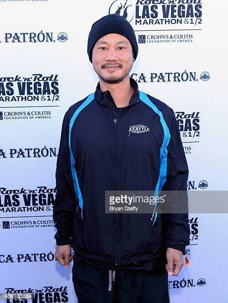 Tony Hsieh rocked the #StripatNight in the Rock 'n' Roll Las Vegas Half Marathon in Las Vegas on Sunday November 16th  benefitting the Crohn's...