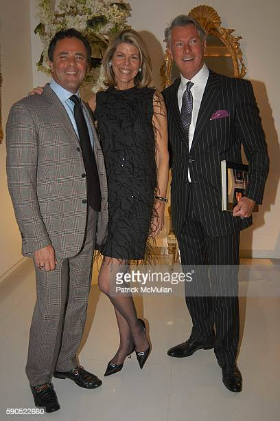 Tony Ingrao Jamee Gregory and Randy Kemper attend Celebration for the Publication of New York Apartments Private Views by Jamee Gregory at Ingrao...