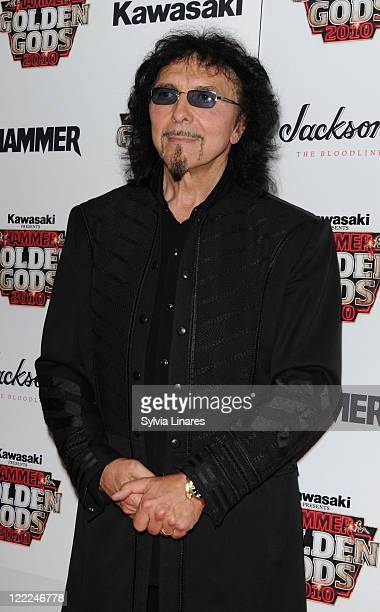 Tony Iommi attends the Metal Hammer Golden Gods Awards 2010 at Indigo2 at O2 Arena on June 14 2010 in London England