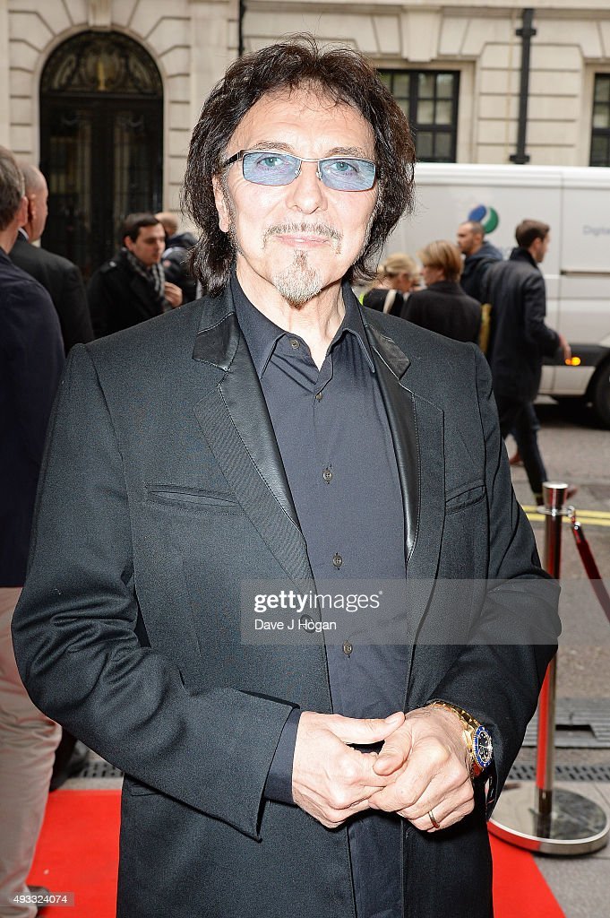 Tony Iommi attends the Q Awards at The Grosvenor House Hotel on October 19, 2015 in London, England.