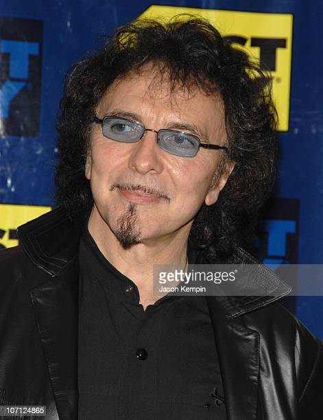 Tony Iommi during Black Sabbath InStore Appearance For 'Heaven and Hell The Dio Years' April 3 2007 at Best Buy 5th Avenue in New York City New York...