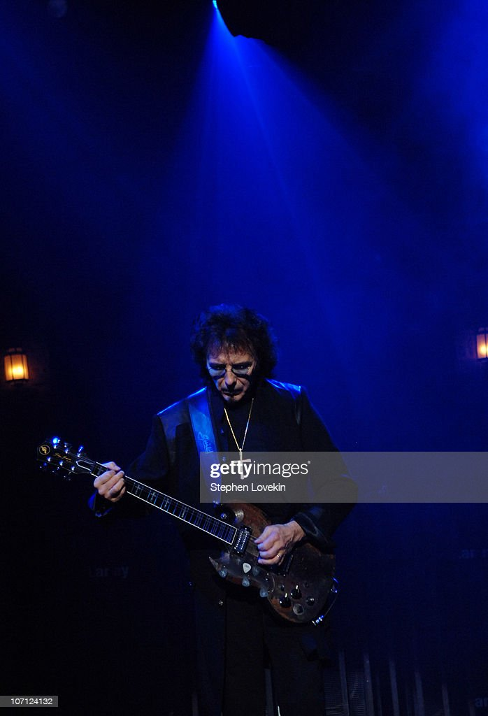Tony Iommi during Heaven and Hell - Black Sabbath Featuring Ronnie James Dio in Concert at Radio City Music Hall in New York City - March 30, 2007 at Radio City in New York City, New York, United States.