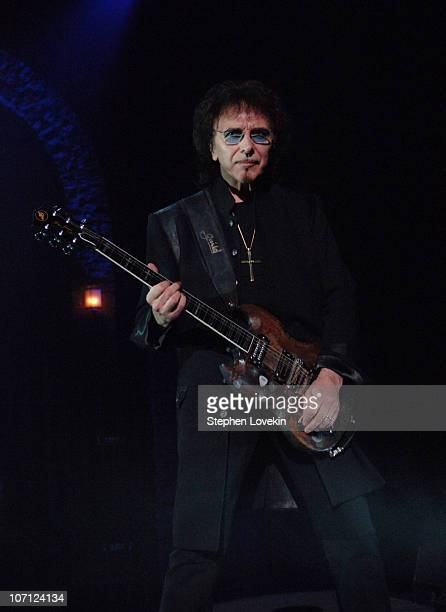 Tony Iommi during Heaven and Hell Black Sabbath Featuring Ronnie James Dio in Concert at Radio City Music Hall in New York City March 30 2007 at...