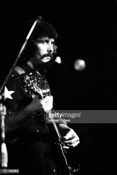 Tony Iommi of Black Sabbath performs on stage at the Royal Albert Hall London on 17th February 1972