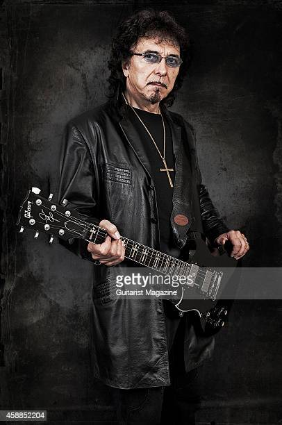 Tony Iommi of Black Sabbath with his Gibson Custom Shop SG electric guitar taken on June 12 2007