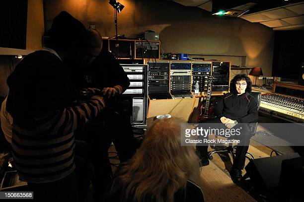 Tony Iommi of Heaven and Hell at the Rockfield Studios on July 25, 2007 in Monmouth.