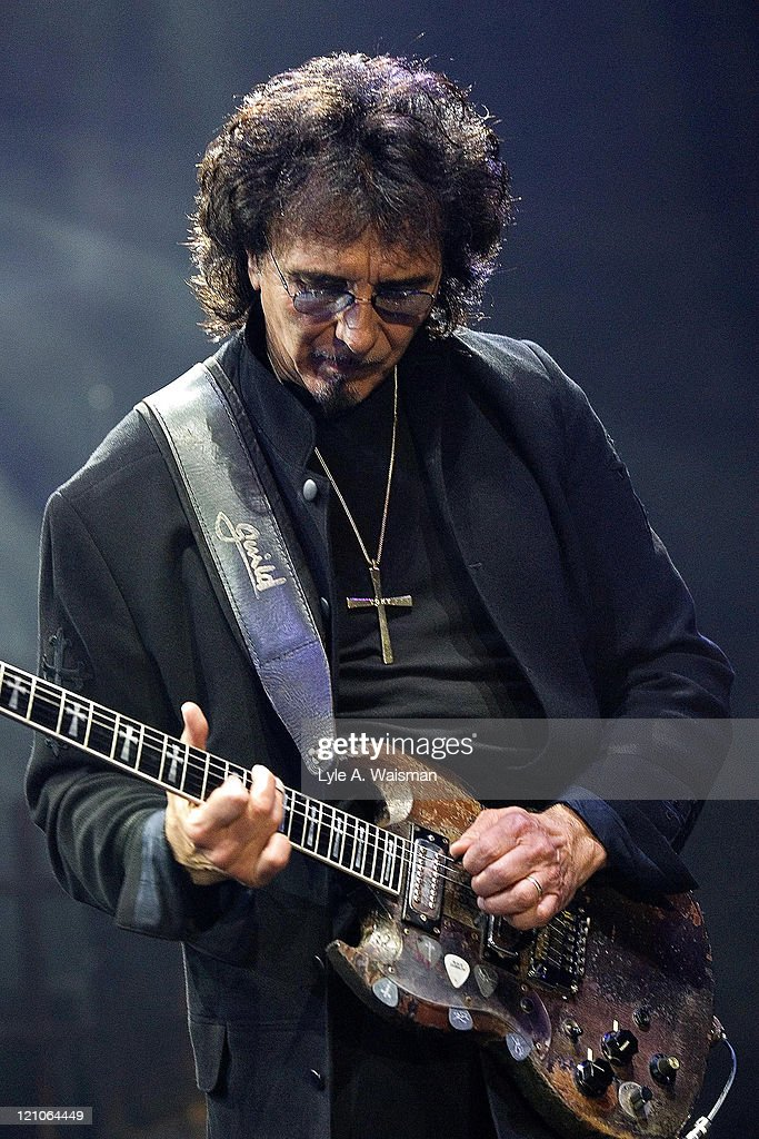 Tony Iommi of Heaven and Hell during Heaven and Hell and Megadeth in Concert at the Allstate Arena in Chicago - May 5, 2007 at Allstate Arena in Rosemont, Illinois, United States.