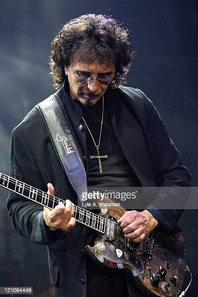 Tony Iommi of Heaven and Hell during Heaven and Hell and Megadeth in Concert at the Allstate Arena in Chicago May 5 2007 at Allstate Arena in...