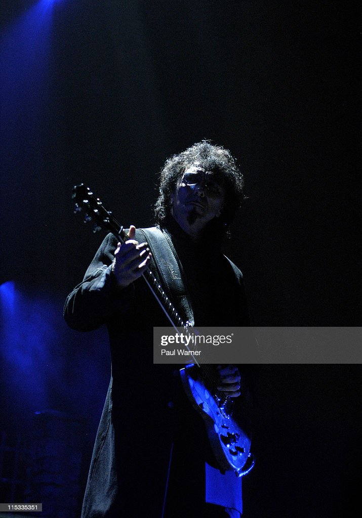 Tony Iommi of Heaven and Hell during Heaven and Hell Tour in Detroit - May 12, 2007 at Cobo Arena in Detroit, Michigan, United States.