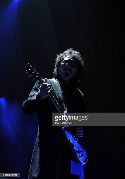 Tony Iommi of Heaven and Hell during Heaven and Hell Tour in Detroit May 12 2007 at Cobo Arena in Detroit Michigan United States