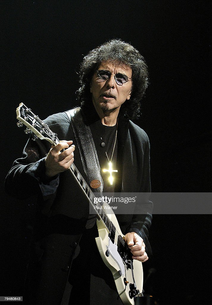 Tony Iommi of Heaven and Hell