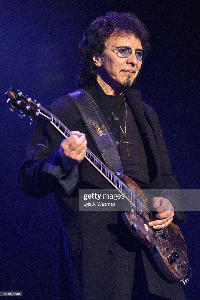 Tony Iommi of Heaven and Hell