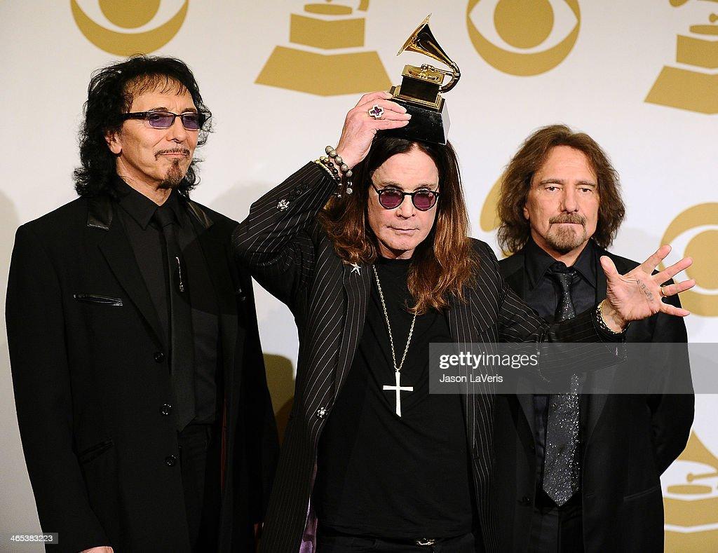 56th GRAMMY Awards - Press Room : News Photo