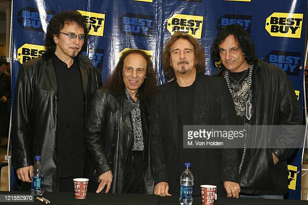 Tony Iommi Ronnie James Dio Geezer Butler and Vinny Appice