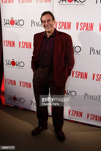 Tony Isbert attends the Presentation of 'V Magazine' at Shoko discoteque on December 1 2009 in Madrid Spain