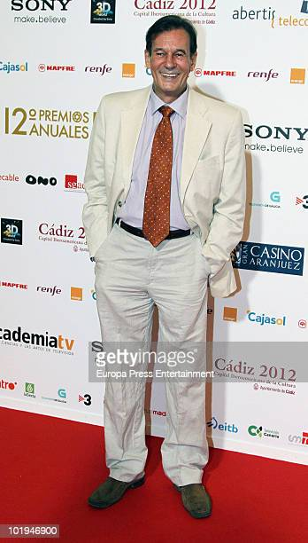 Tony Isbert attends the 'Spanish Academy Television Awards 2010' at Teatros del Canal on June 9 2010 in Madrid Spain