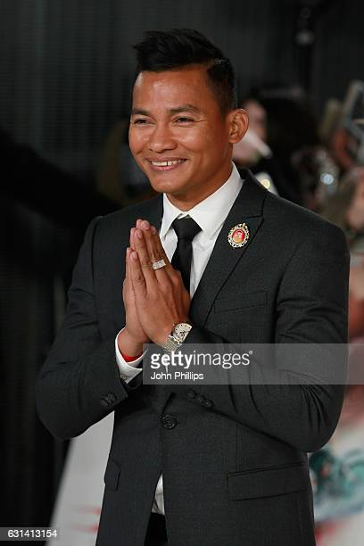 Tony Jaa attends the European premiere of 'xXx' Return of Xander Cage' at Cineworld 02 Arena on January 10 2017 in London United Kingdom