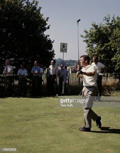 Tony Jacklin of Great Britain circa 1968 at The Wentworth Golf Club in Virginia Water, United Kingdom.