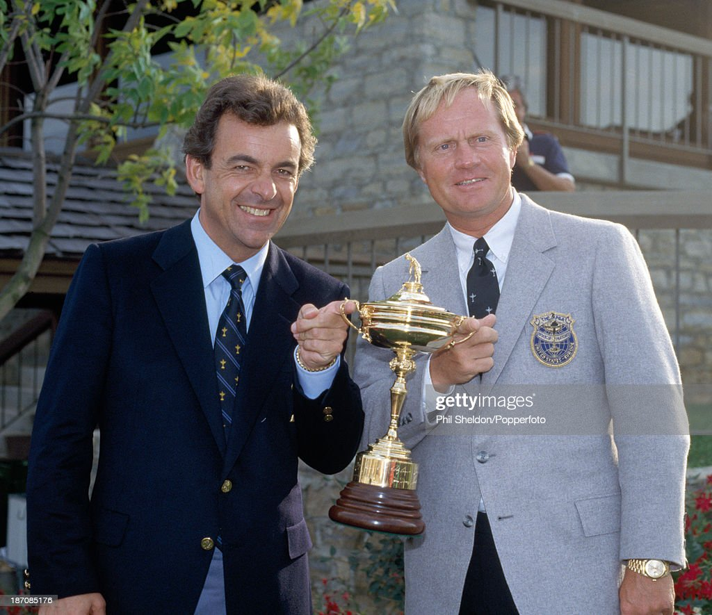 Ryder Cup  -  Tony Jacklin And Jack Nicklaus : News Photo