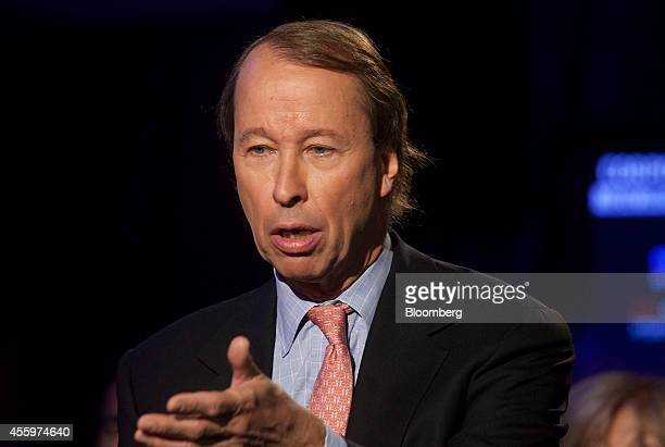 Tony James president and chief operating officer of Blackstone Group LP speaks during the annual meeting of the Clinton Global Initiative in New York...