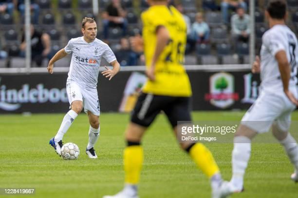 Tony Jantschke of Borussia Moenchengladbach controls the ball during the preseason friendly match between VVVVenlo and Borussia Moenchengladbach on...