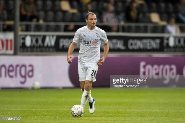 Tony Jantschke of Borussia Moenchengladbach in action during the preseason friendly match between VVVVenlo and Borussia Moenchengladbach at Stadion...
