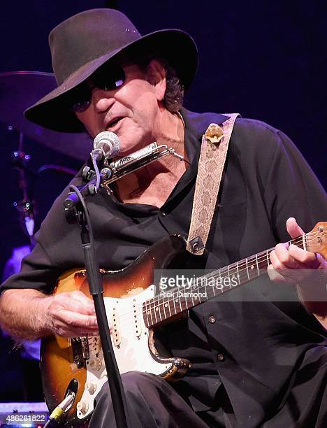 Tony Joe White performs during Rosanne Cash 'The River And The Thread' During Her First ArtistinResidence Show at The Country Music Hall of Fame and...