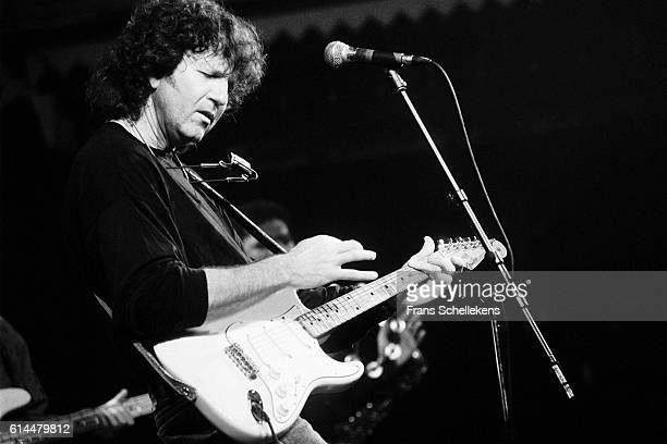 Tony Joe White, vocals and guitar, performs at the Paradiso on December 8th 1991 in Amsterdam, Netherlands