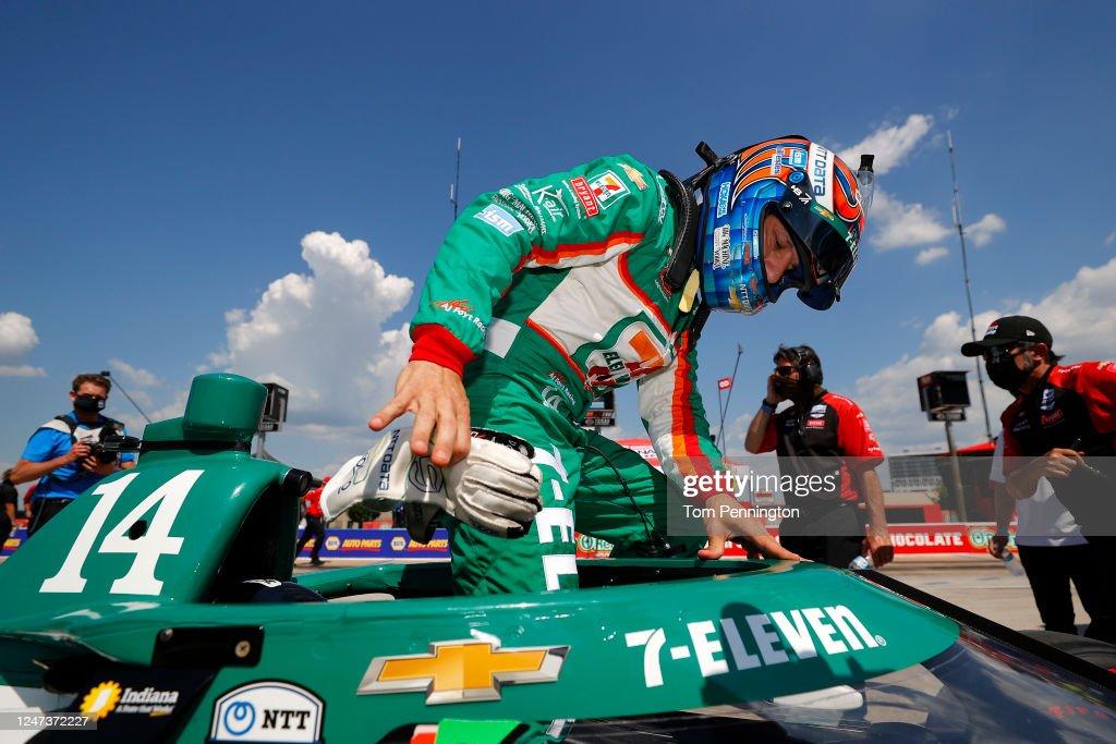 NTT IndyCar Series - Genesys 300 : News Photo