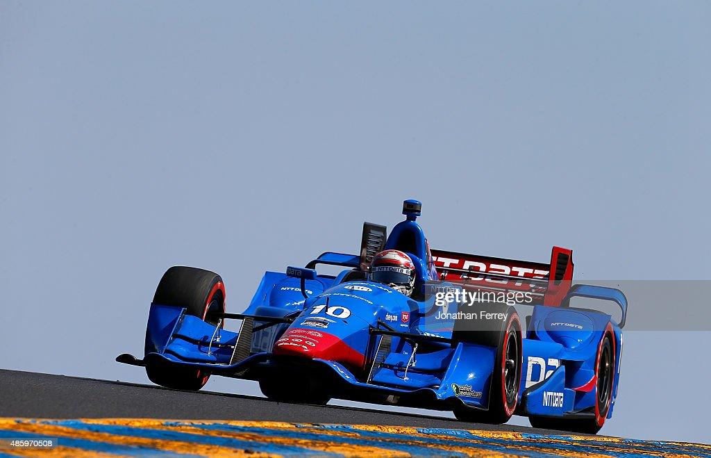 Verizon IndyCar Series GoPro Grand Prix of Sonoma : News Photo