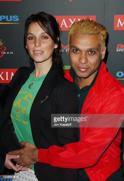 Tony Kanal and Erin during Maxim Magazine's Annual Hot 100 Party at 1400 Ivar in Hollywood, CA, United States.