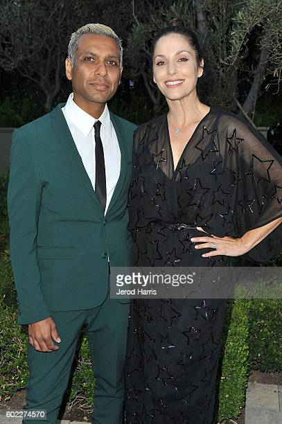 Tony Kanal and Erin Lokitz arrive at Mercy For Animals Presents Hidden Heroes Gala 2016 at Vibiana on September 10 2016 in Los Angeles California