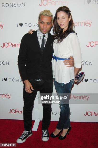 Tony Kanal and Erin Lokitz attend JCPenney and Charlotte Ronson Party at Bar Marmont on April 3 2009 in Hollywood CA
