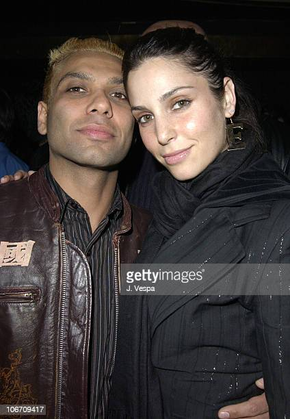 Tony Kanal and Erin Lokitz during Blender Magazine and Rock the Vote present Supergroup Camp Freddy's Tribute to Joe Strummer at Roseland Ballroom in...