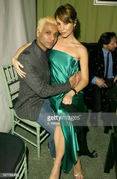 Tony Kanal and Erin Lokitz during EMI 2004 GRAMMY Party at Los Angeles County Museum of Art in Los Angeles California United States
