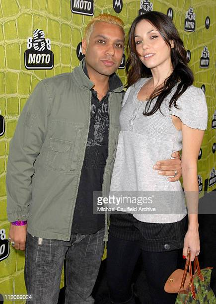 Tony Kanal and Erin Lokitz during Motorola's 8th Anniversary Party Featuring a Performance by Christina Aguilera at Hollywood Palladium in Hollywood...