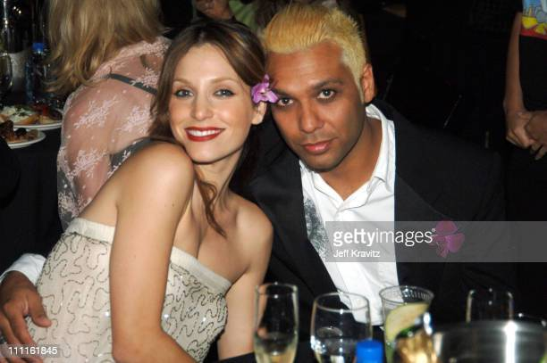 Tony Kanal and guest during 25th Anniversary Gala for PETA and Humanitarian Awards - Backstage and Audience at Paramount Studios in Hollywood,...