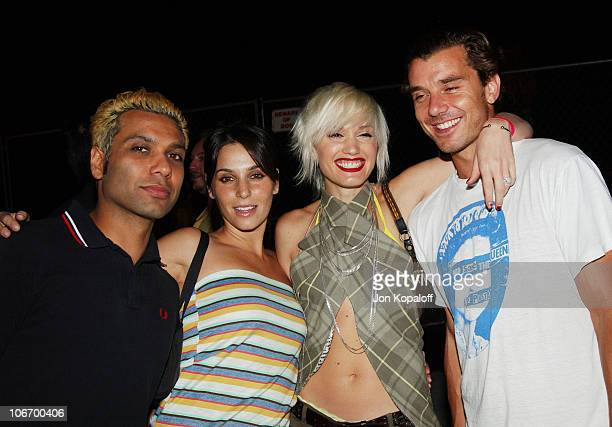 Tony Kanal Erin Lokitz Gwen Stefani and Gavin Rossdale *Exclusive*